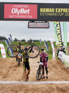 Vooremäe Olybet rattamaraton finish